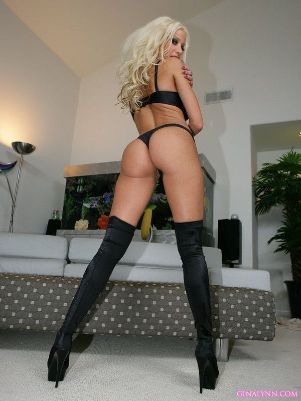 Gina Lynn Black Lingerie Booty Of The Day 1